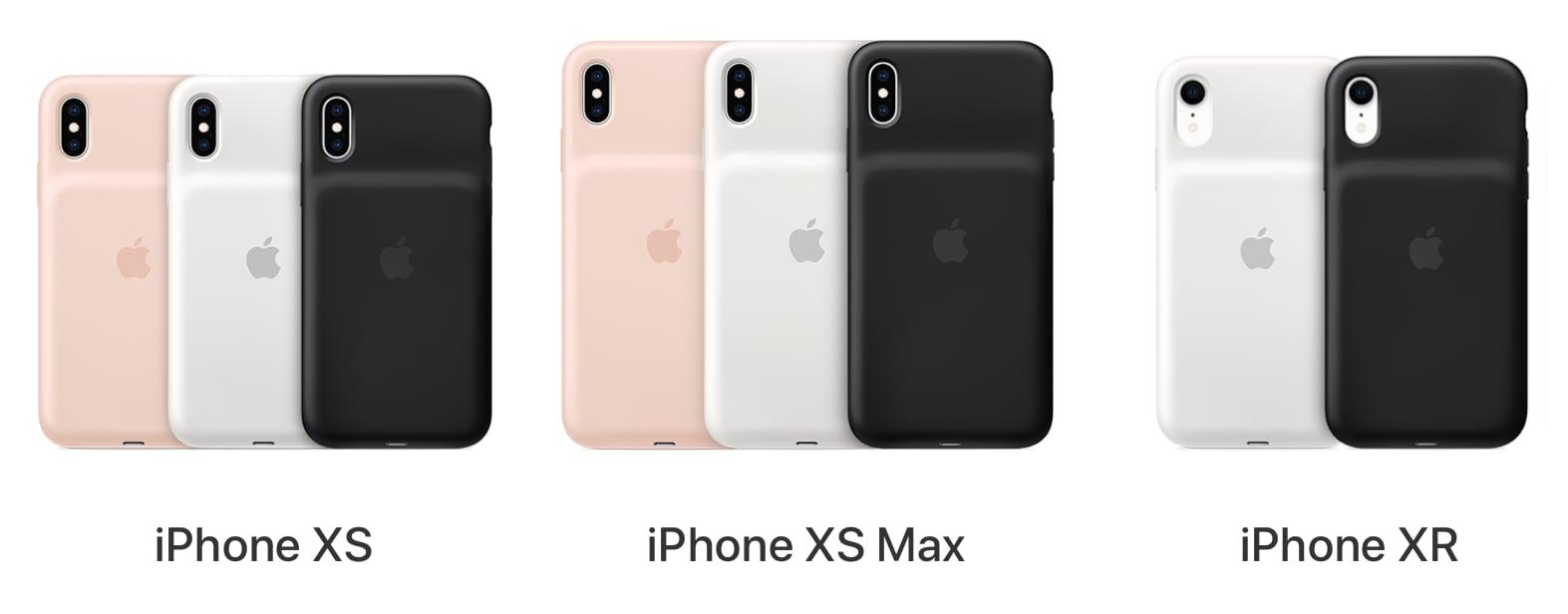 apple besplatno menyaet smart battery case dlya iphone xs xs max xr