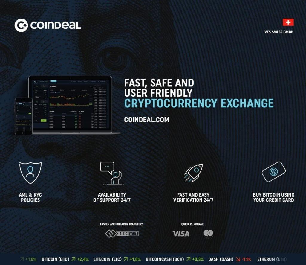 coindeal dinamichno razvivayushhayasya platforma dlya obmena kriptovalyut 1