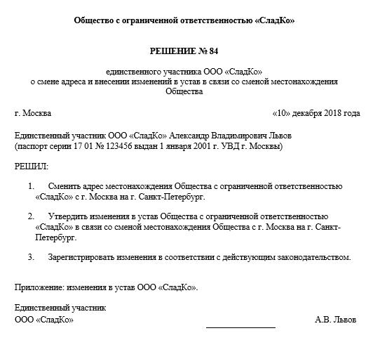 vnesenie izmenenij v ustav ooo v 2018 godu poshagovaya instrukciya 1