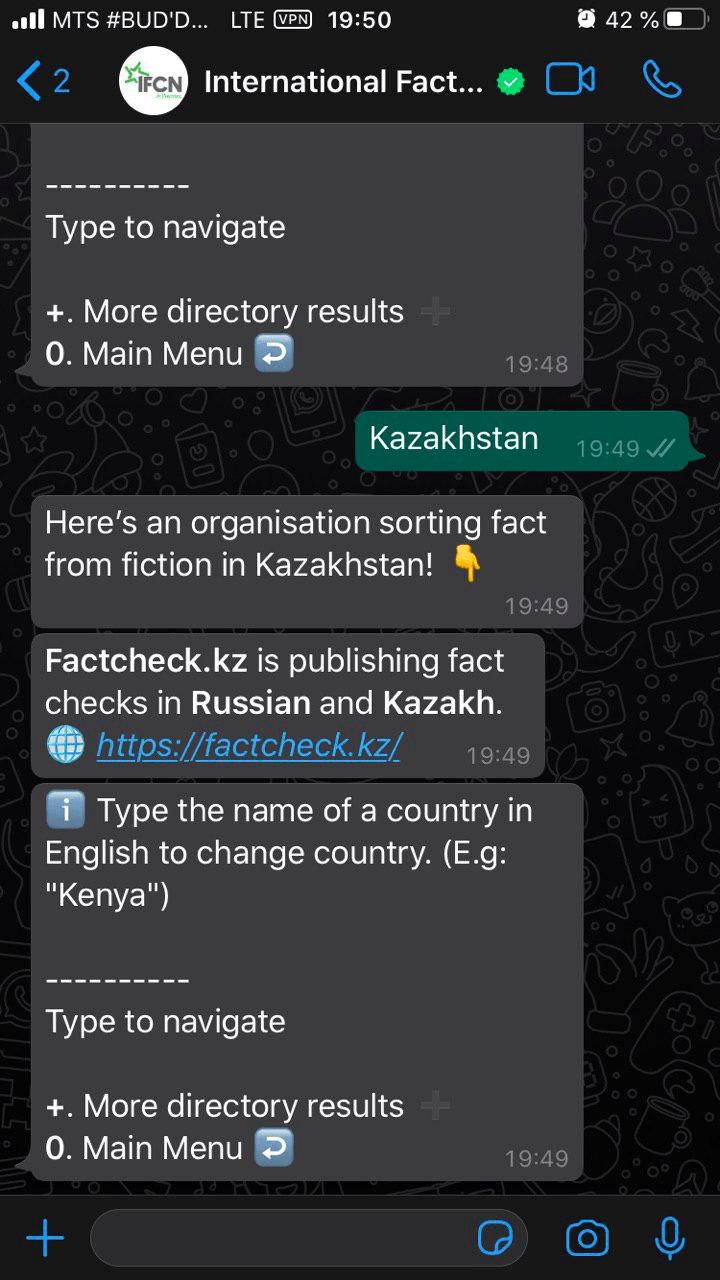 kak ispolzovat novyj chat bot dlya proverki faktov na nalichie koronavirusa v whatsapp